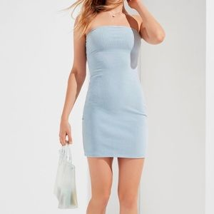 Urban Outfitters Corduroy Tube Mini Dress